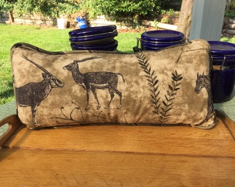 African Print Decorator Pillow