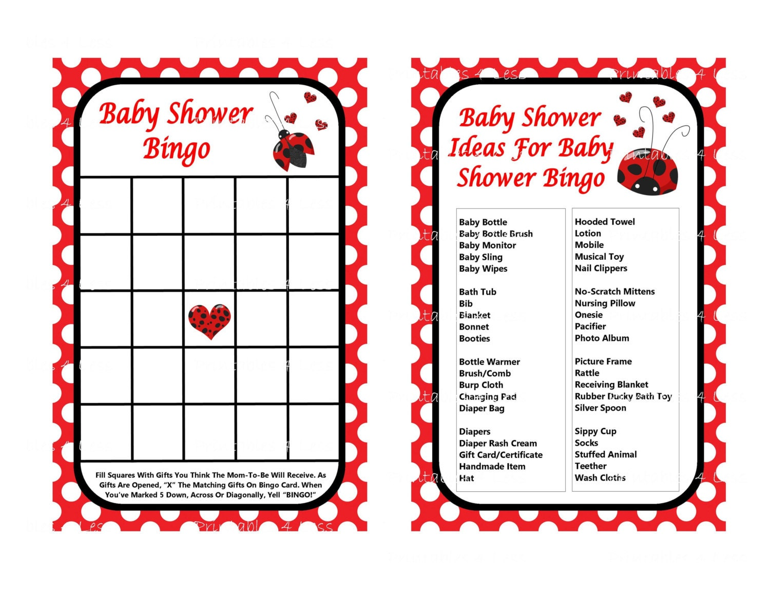 FREE Ladybug Party Printables | Catch My Party