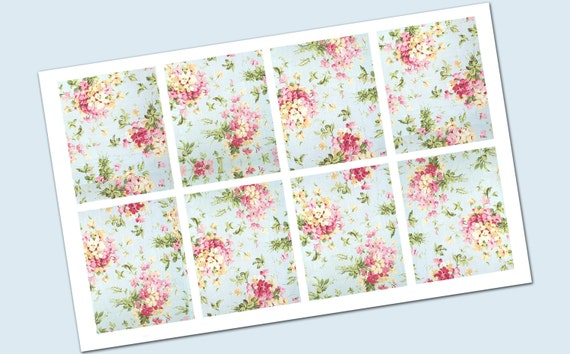 box shabby chic Combo Stickers - For Erin Condren Life Planner ...