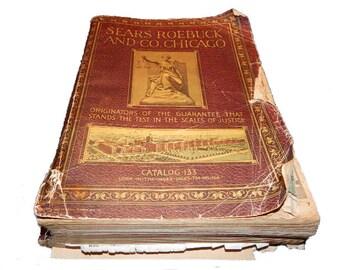 Original 1916 Sears & Roebuck Catalog - 1600 pages