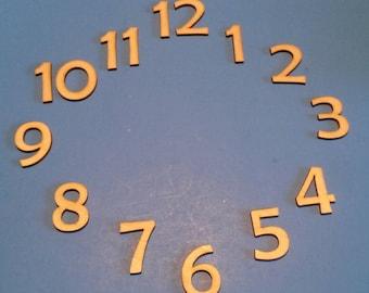 "1.5"" clock numbers    Berlin Sans FB"