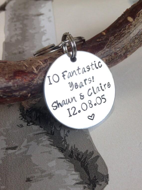 10 Year Anniversary - Anniversary Gift - Gift for Anniversary ...