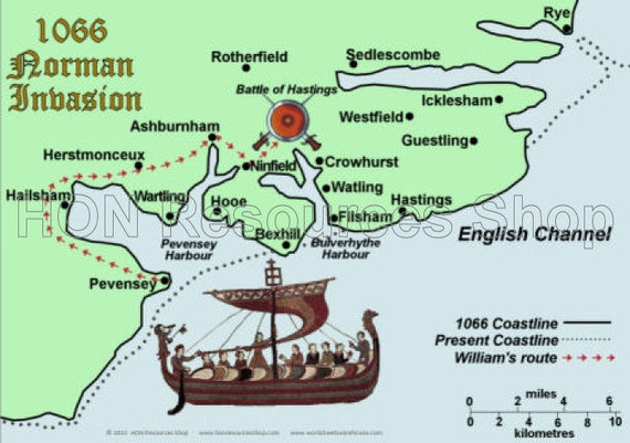 a overview of the 1066 norman invasion Overview: the normans, 1066 - 1154  whereas in england the invasion was led by the duke, and in scotland normans were invited in by kings of the native line, in wales, aggressive norman.