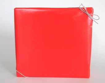 Bright Red Gloss Wrapping Paper, 10 ft x 2 ft. / 3.048 m. x .60 m. Roll,
