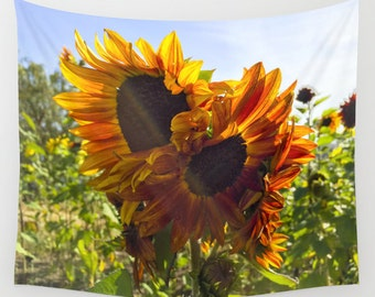 Sunflower Custom Tapestry