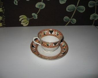 Sweet Balmoral China Tea Cup with Saucer