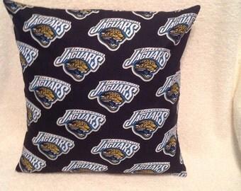 Jacksonville Jaguars Pillow