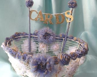 Shabby Chic Wedding Card Holder