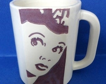 Lucille Ball 1991 Festival of New Comedy Mug Limited Edition