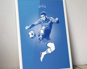 Eden Hazard - Chelsea FC Poster Art