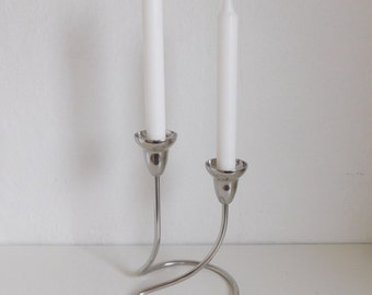 Georg Jensen Swing candle holder - double - Mirror polished