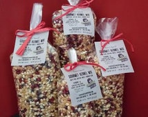 Gourmet Popcorn Kernel Mix from VT - 7.5 oz, 15 oz, 1.4 lbs, & 1.9 lbs bags - From organic Vermont and Canadian farms!