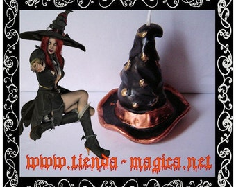 Candle witch/candle witch hat Hat