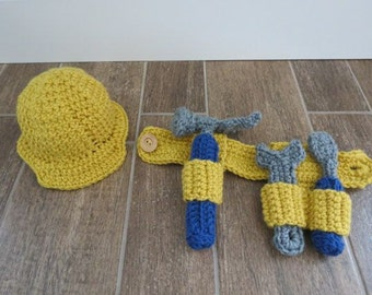 Newborn Crochet Construction Set