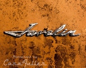 Orange AMC Javelin Logo Photograph