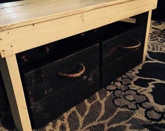 Stoarge box/Farmhouse bins/Wood storage box