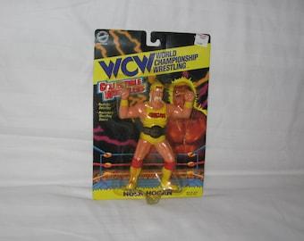 vintage 1994 wcw hulk hogan wrestling action figure