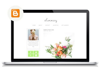 Summery | Blogger Template
