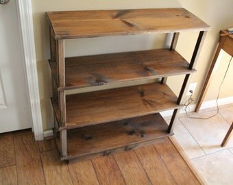 Pine bookshelf, bookshelf, kids bookshelf, storage shelf, bookcase, wooden booshelf, cabin furnitue,classroom bookshelf