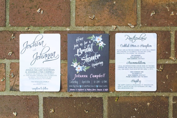 Custom made wedding invitations watercolor -front &back, RSVP card, Accommodation cards (digital copy)