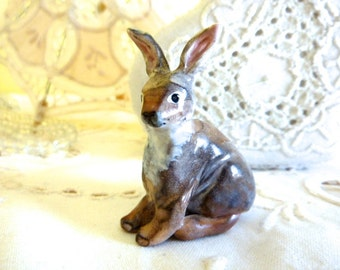 Rabbit Figurine Totem