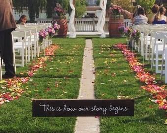 Wedding Isle sign :Block Your Wedding Isle