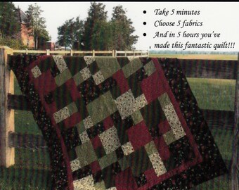 Take 5 Quilt Pattern by The Teacher's Pet