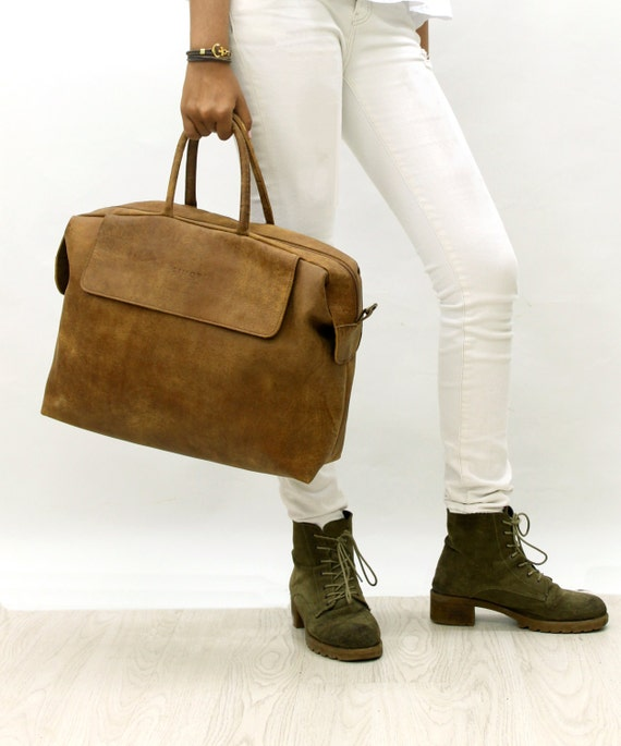 Sale !!! Leather messenger purse, leather laptop bag woman, woman briefcase