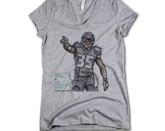 Seattle Seahawks DeShawn Shead WOMEN Jerseys, NFL Jerseys