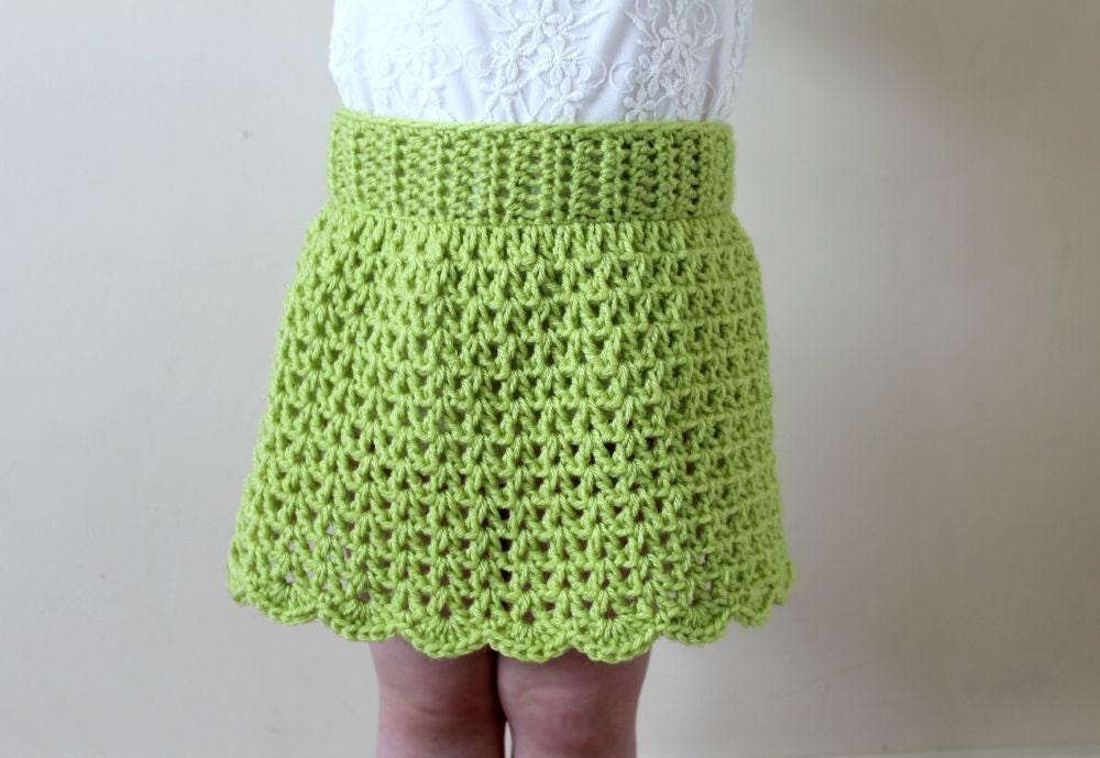 Free Download Crochet Skirt Pattern : CROCHET PATTERN, Crochet Skirt Pattern, Crochet Girls ...