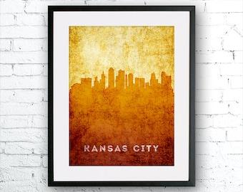 Kansas City Wall Art kansas city painting | etsy