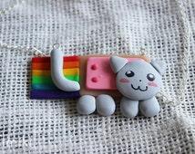 Nyan Cat pendant