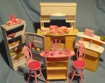 Vintage Barbie furniture Kitchen