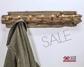 Driftwood coat Rack // Driftwood home decor