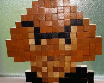 Goomba Wooden Wall Art