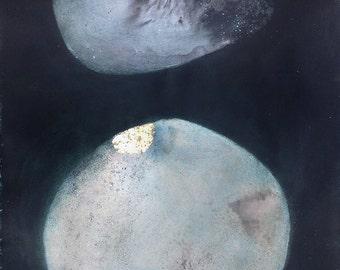 Large Mixed Media, Original Painting, Abstract Art - Abstract Minimal Painting / Contemporary Art / Modern Art