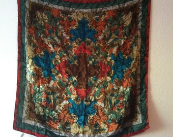 Made in Italy, 50/50 Polyester/ Viscose, Abstract Italian Design Scarf