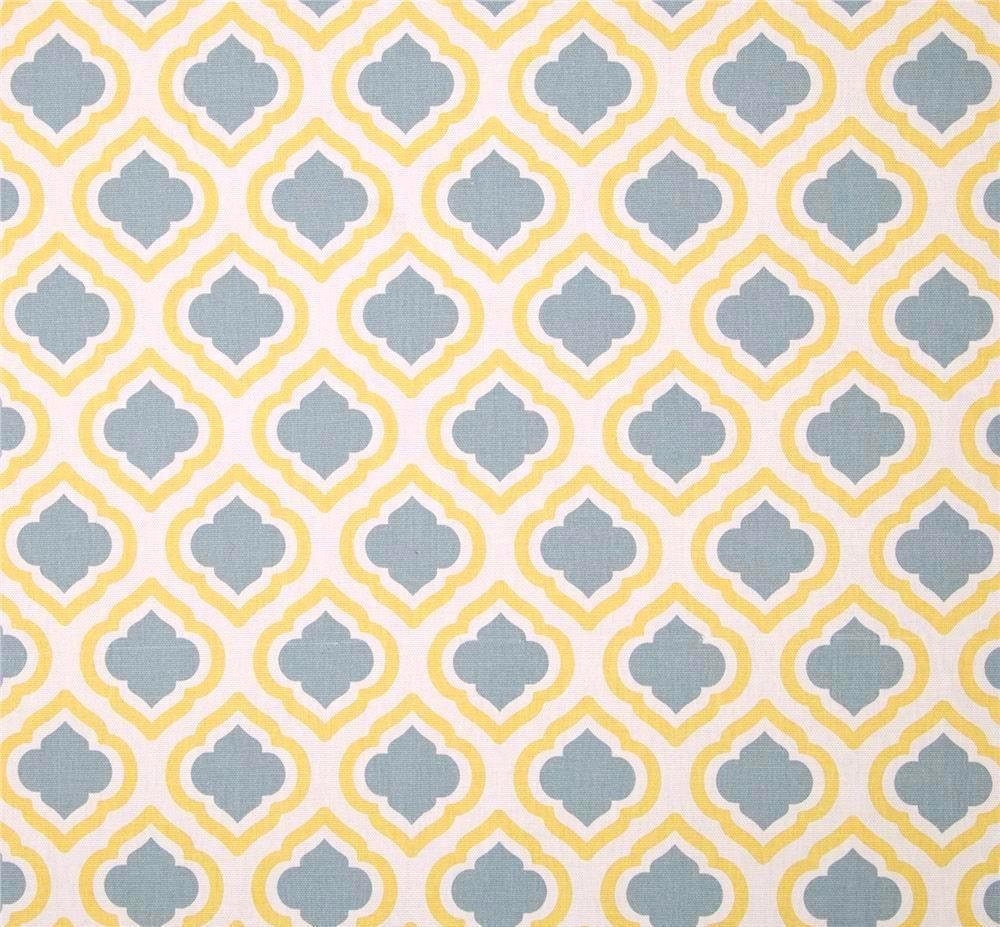 neutral yellow grey designer geometric fabric by by cottoncircle. Black Bedroom Furniture Sets. Home Design Ideas