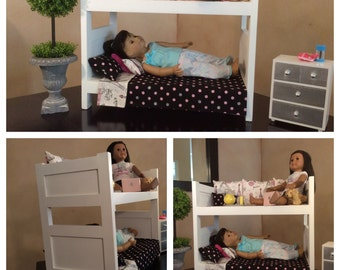 Day Bed/Bunk Bed - 18 inch Doll