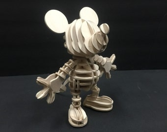 Disney Mickey Mouse 3D Wood Puzzle
