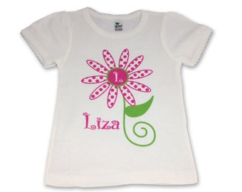 Personalized Toddler Girl Tshirt Personalized Tshirt for Toddler Girl Custom Toddler Shirt Personalized Shirt