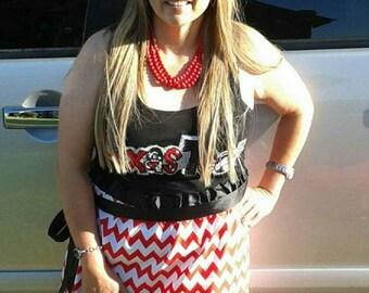 College football tailgate dress