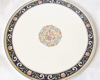 Wedgwood Runnymede Blue - cake plate - 11 inch vintage cake plate