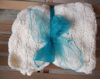 Darling Hand Knitted Throw!