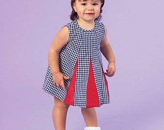 McCall's Sewing Pattern M7177 Infants' Gored Dresses and Panties
