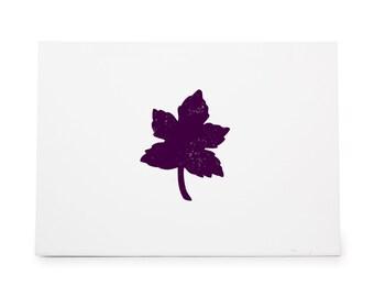 Maple Leaf 280 Rubber Stamp Shape great for Scrapbooking, Crafts, Card Making, Ink Stamping Crafts
