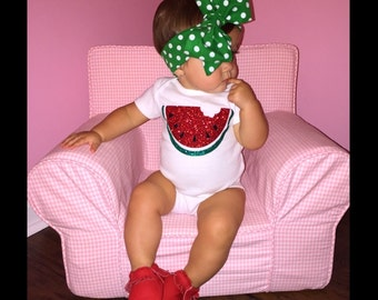 Watermelon Baby One piece Toddler Tshirt