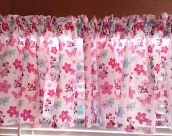 Minnie's Garden Curtain Valance