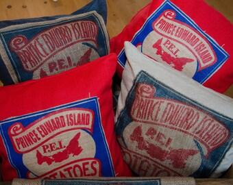PEI Potato Sack Pillow