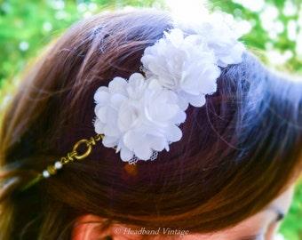 """Vintage Headband / head jewel """"Marie"""""""